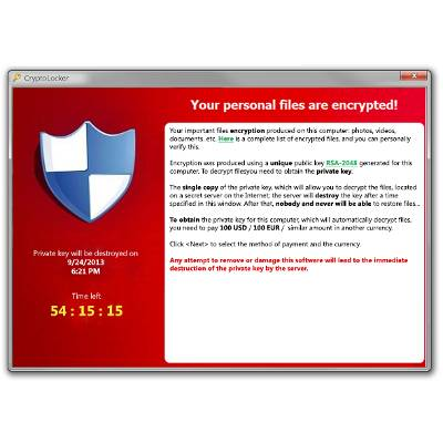 Virus Alert: CryptoLocker Can Disable Your Business!